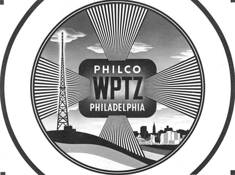 The Broadcast Pioneers Of Philadelphia Delectable Old Tv Test Pattern